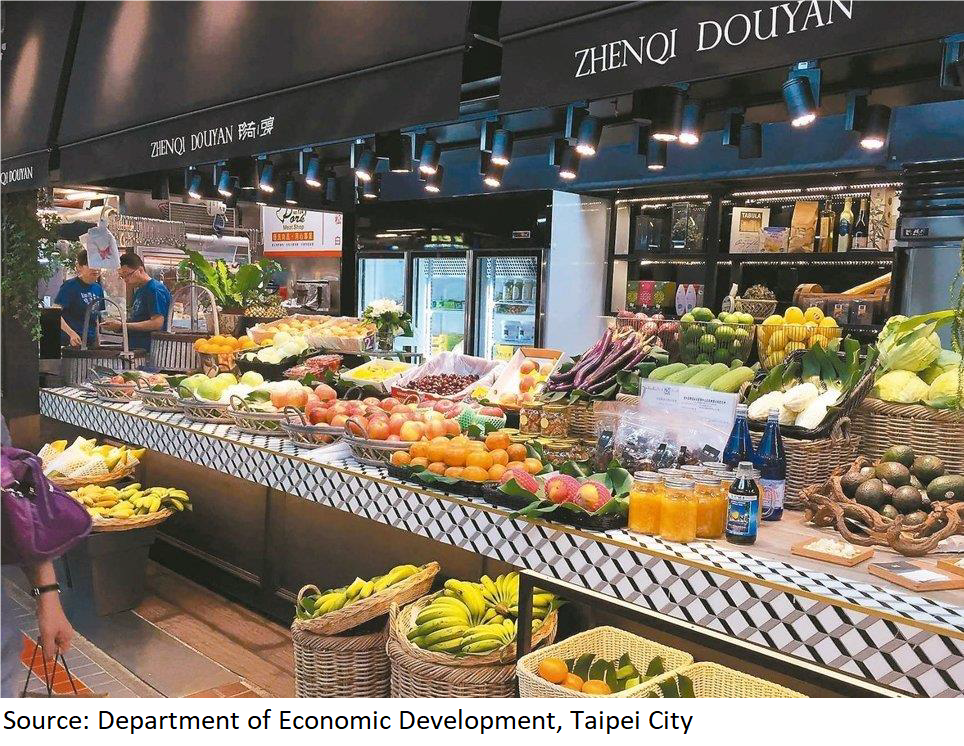 Innovative design of Shi-Dong Market attracts tourists' attention