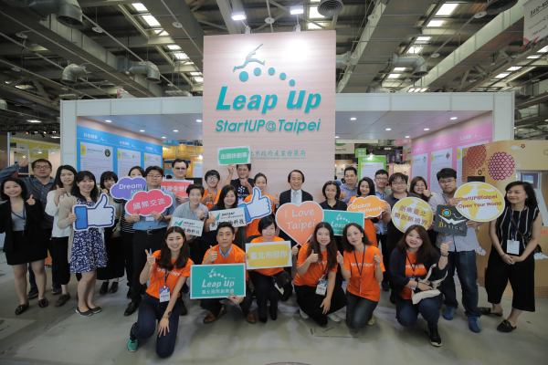 2018 Meet Taipei Startup Pavilion features displays by 40 startup teams/ Data source: Department of Economic Development, Taipei City Government