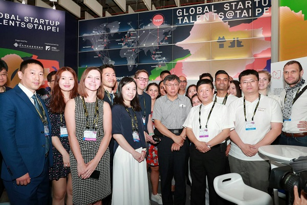 25 startup teams coming from 16 countries were gathered at the Global Startup Talents @ Taipei to join the exposition for business exchange/ Source: Department of Economic Development, Taipei City Government